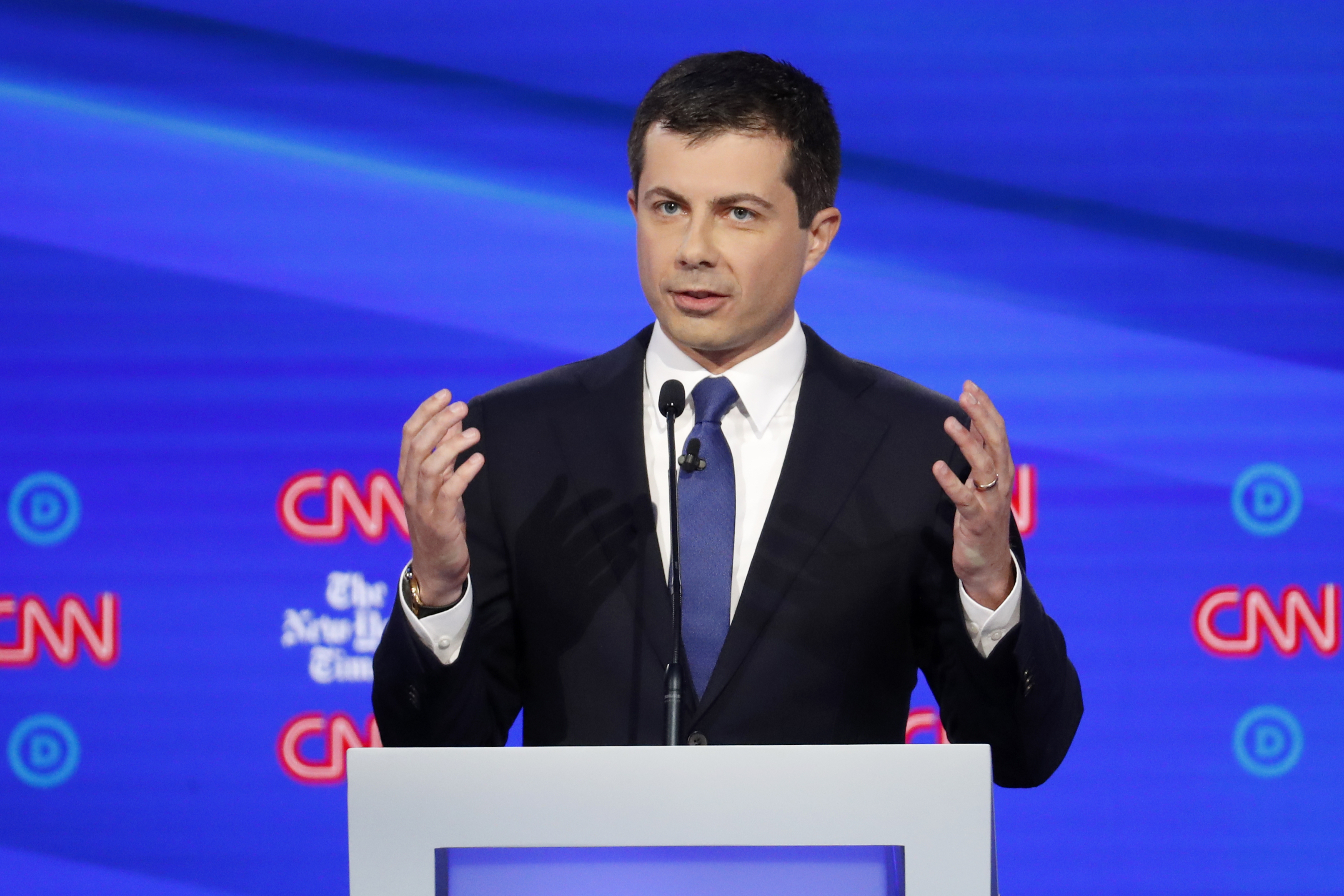 Can Pete Buttigieg, cool and cerebral, second that emotion?