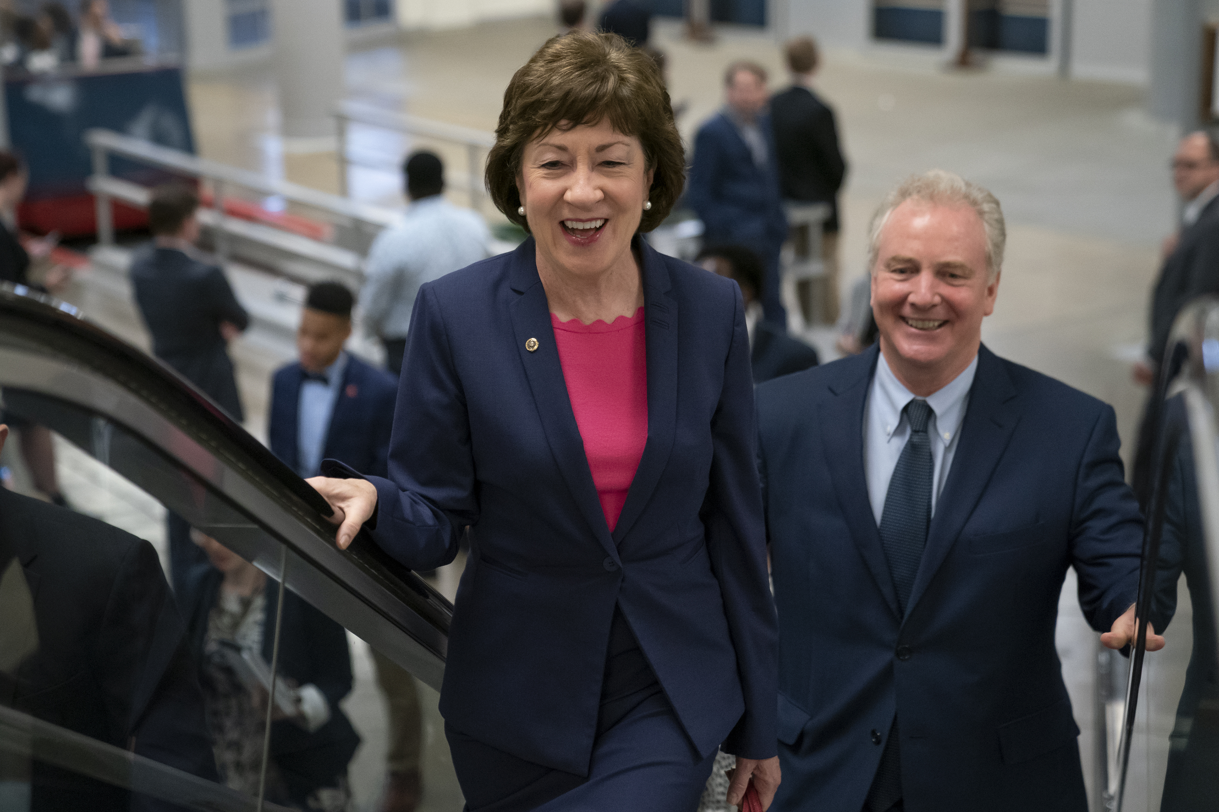 Collins casts 7,000th Senate vote as reelection race looms