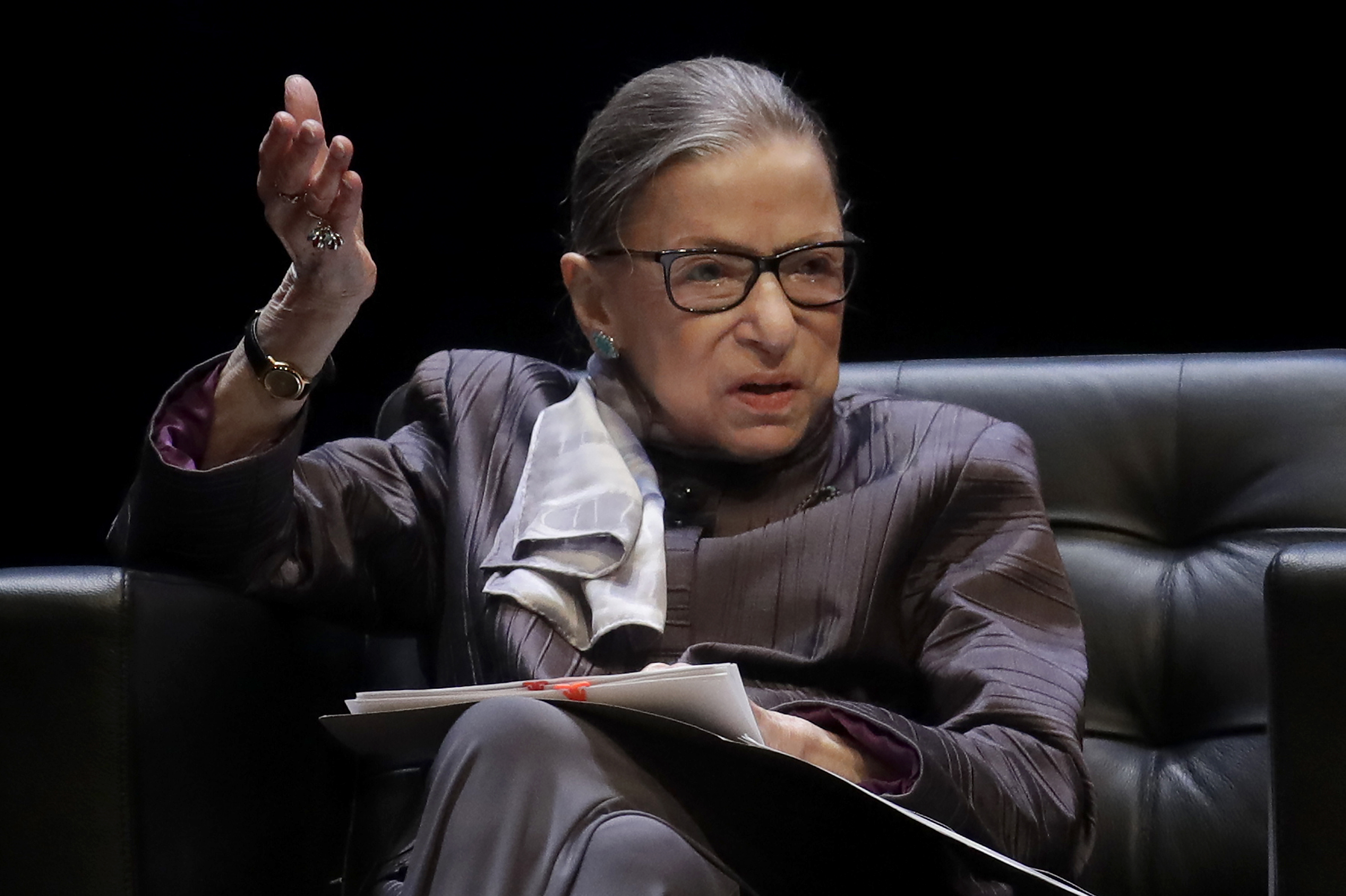 Supreme Court says Ginsburg released from hospital