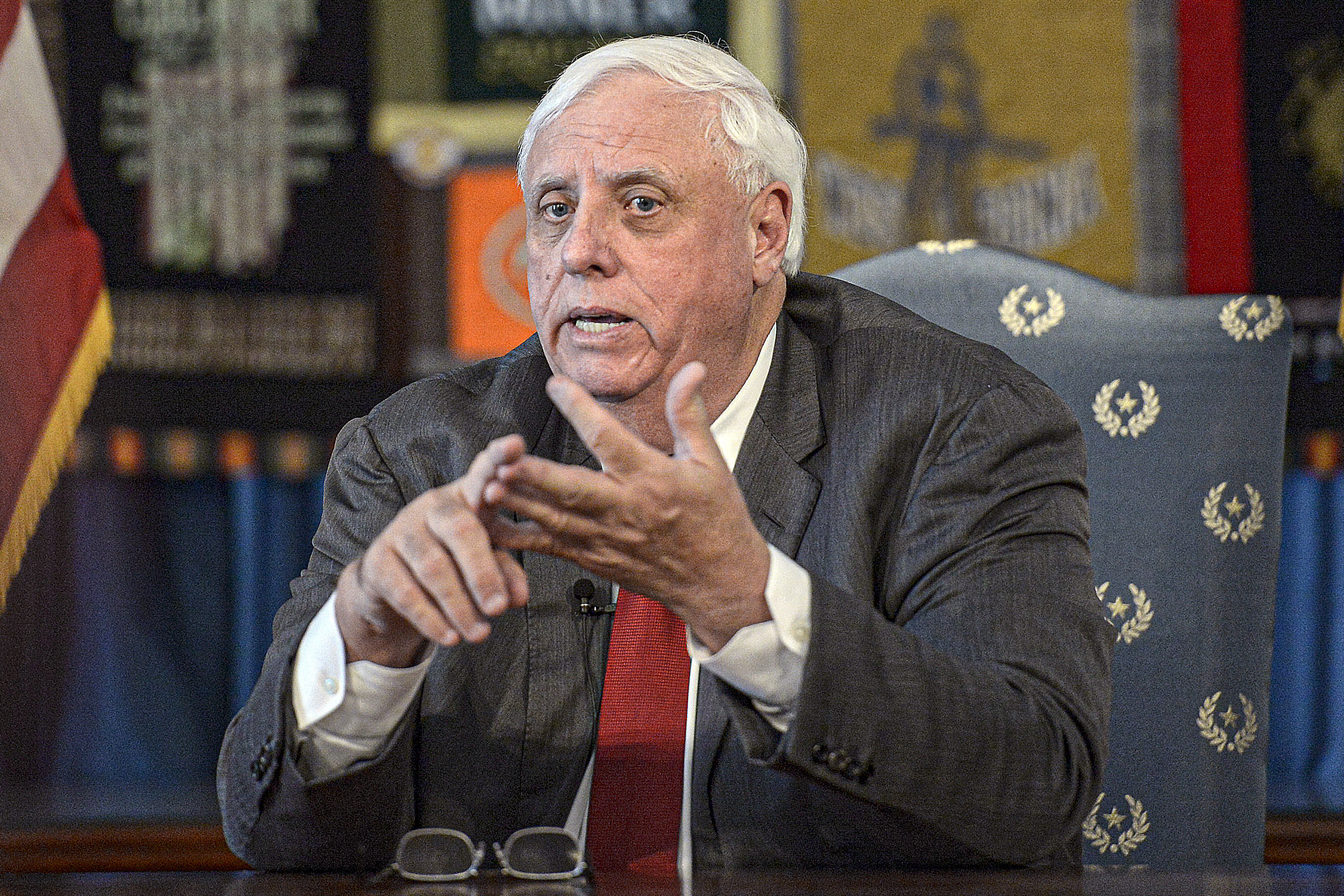 West Virginia governor says he welcomes all, except Obama