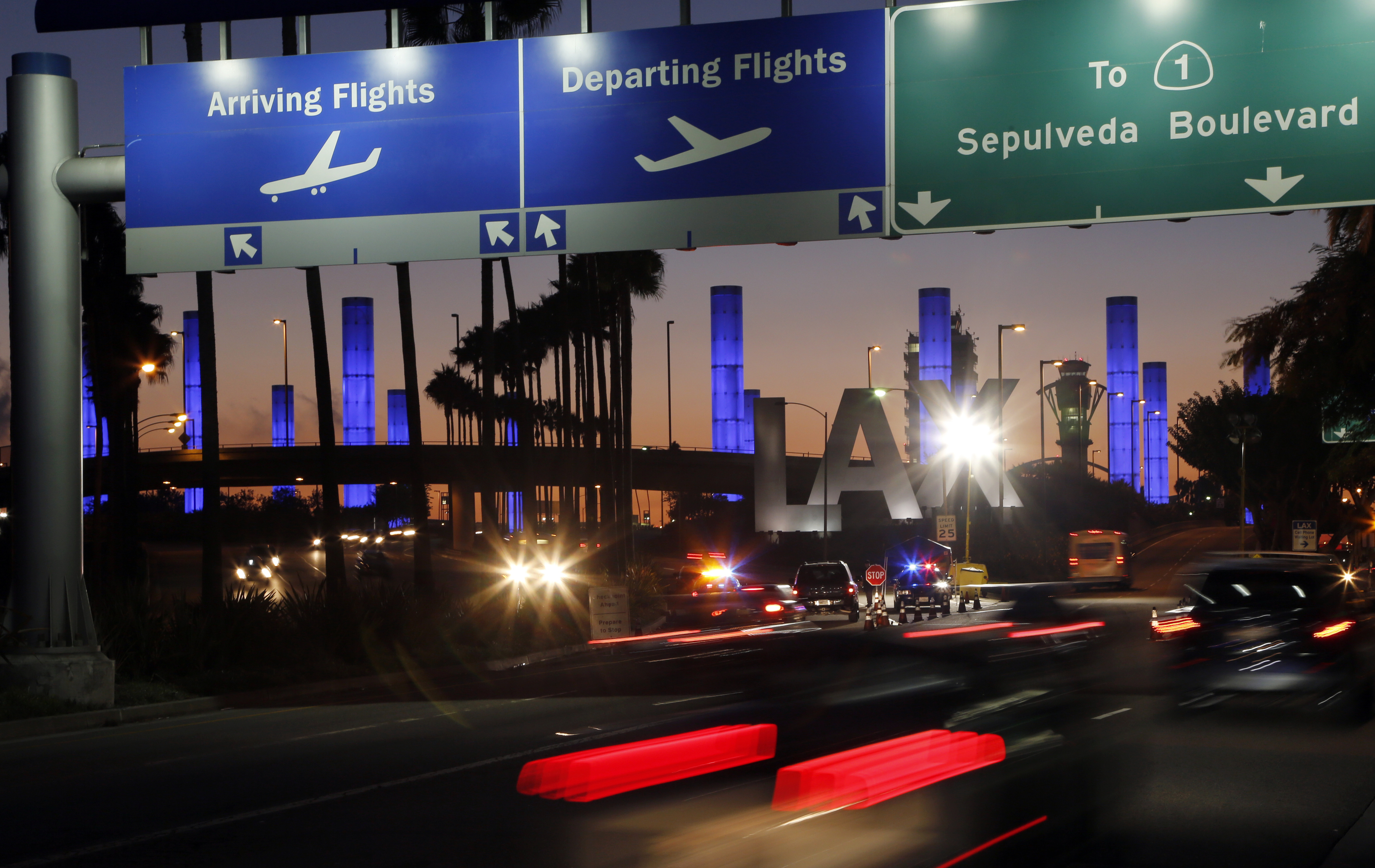 LAX moving taxi, rideshare pickups away from terminals