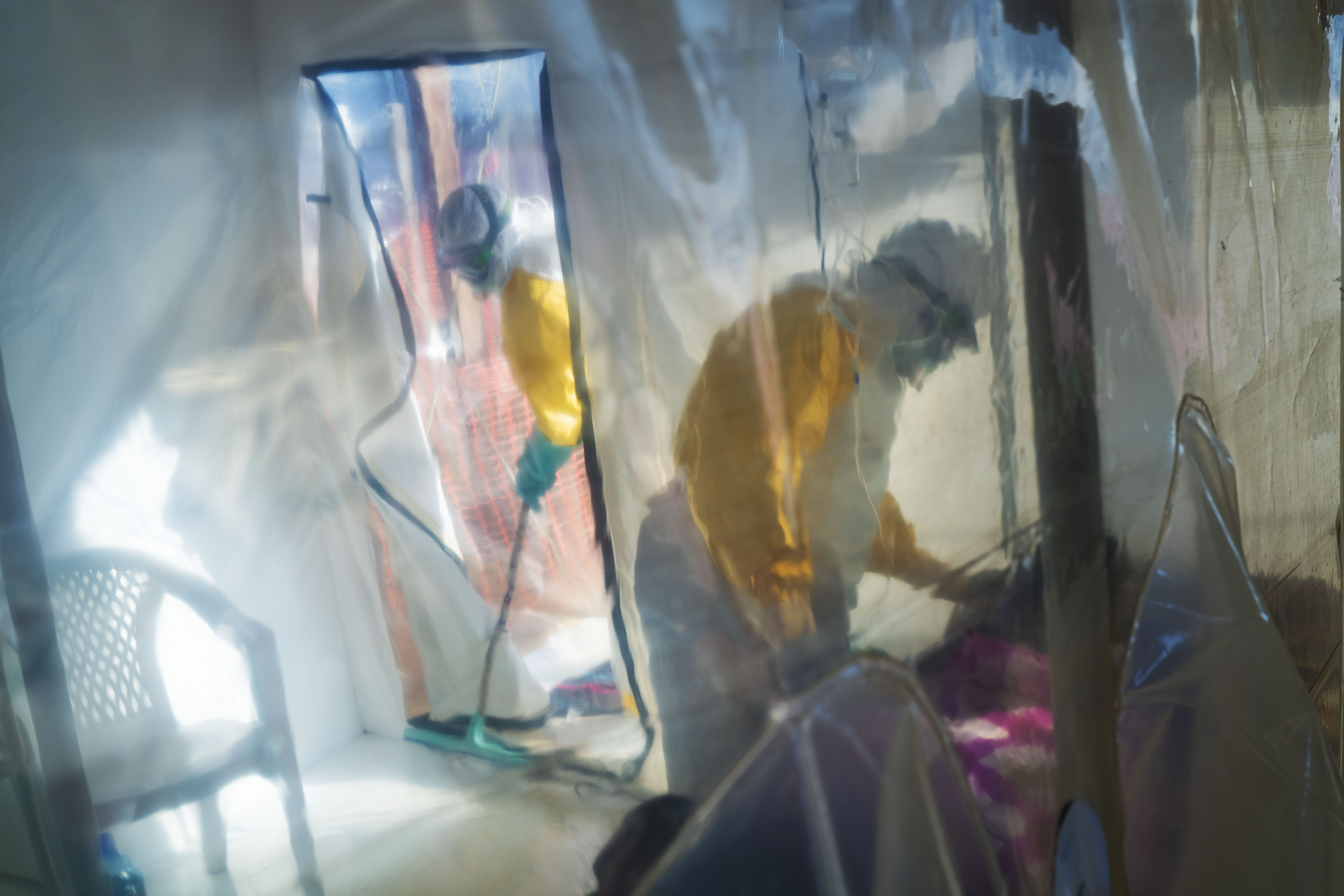 Congo tracing contacts of first Ebola case in eastern city