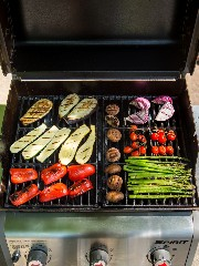 Discover grilled vegetables