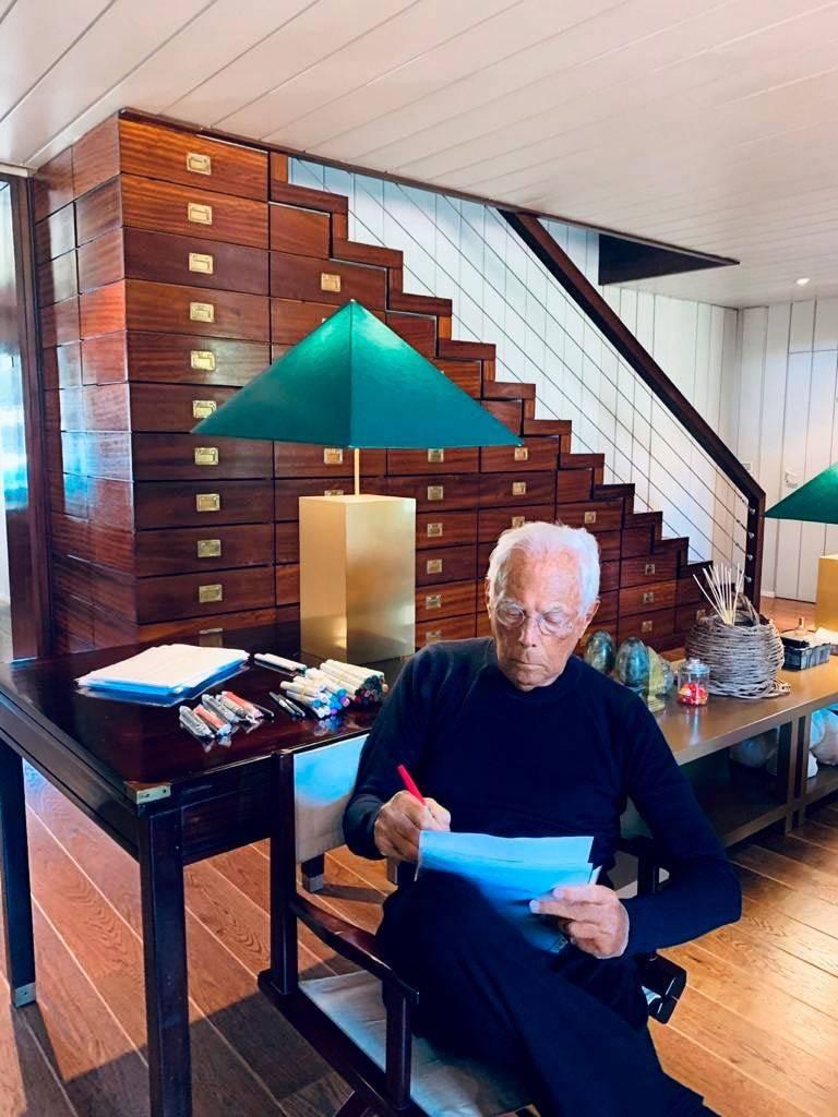Tour Fashion Legend Giorgio Armani's Private Tuscan Getaway