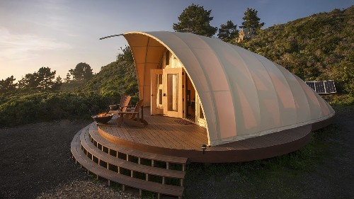 This Tent Pairs Eco-Friendly Design with Luxury Camping