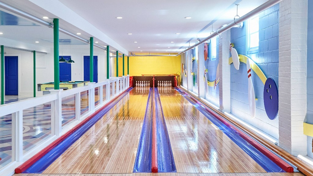 An Interior Designer Drastically Transformed This Long Island Bowling Alley