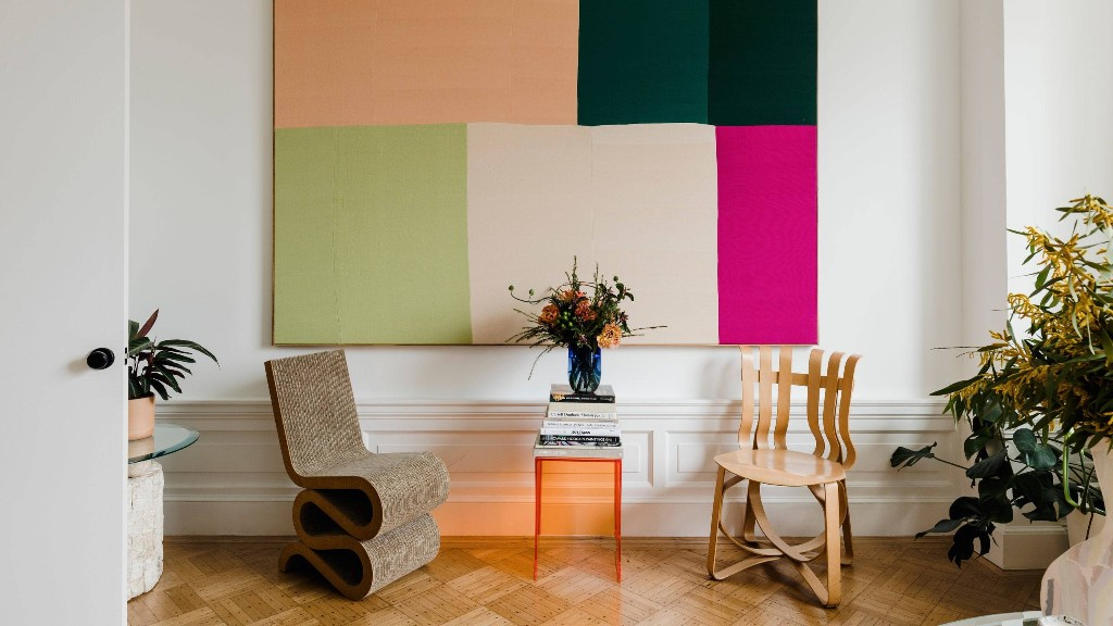 Ethan Cook's Home Is Just as Vibrant as His Artwork
