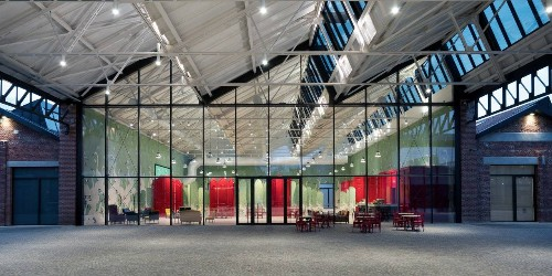 Gucci Reinvents a Former Aircraft Factory for Its New Milan Headquarters