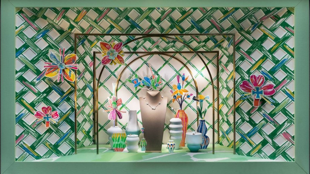 Meet the Buzzy Artist Who Did the New Van Cleef & Arpels Windows