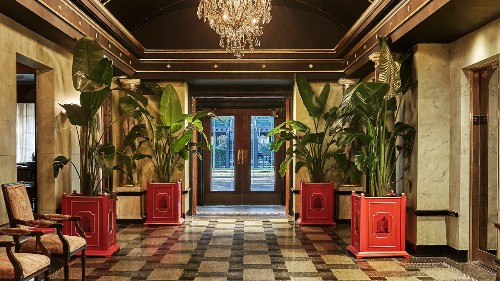 The Most Expensive Suite at New Orleans's Pontchartrain Hotel