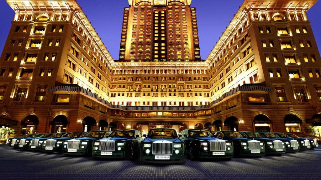 The 8 Most Incredible Hotel Cars in the World