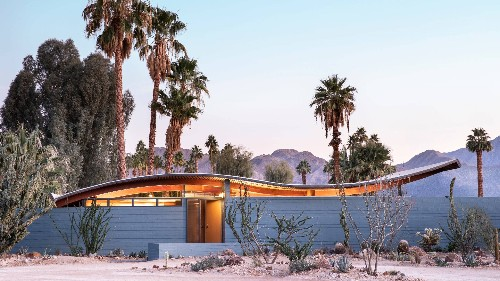 Inside the Restoration of a Midcentury House With the Most Insane Roof