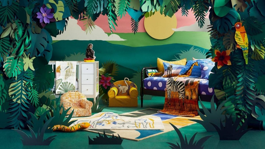 Jane Goodall Brings Her Love of Wildlife Straight Into Children's Rooms