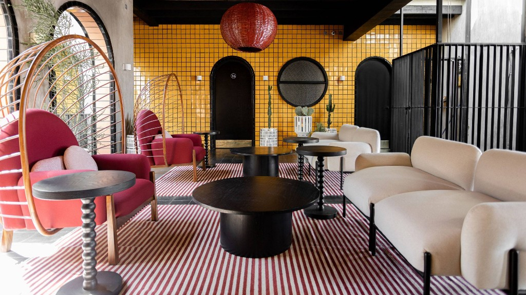 This Mexican Hotel Is a Case Study on How to Do Vibrant Tile Right