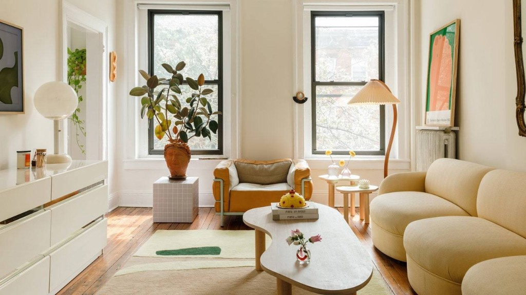 Inside a Playful and Shape-Filled Brooklyn Apartment