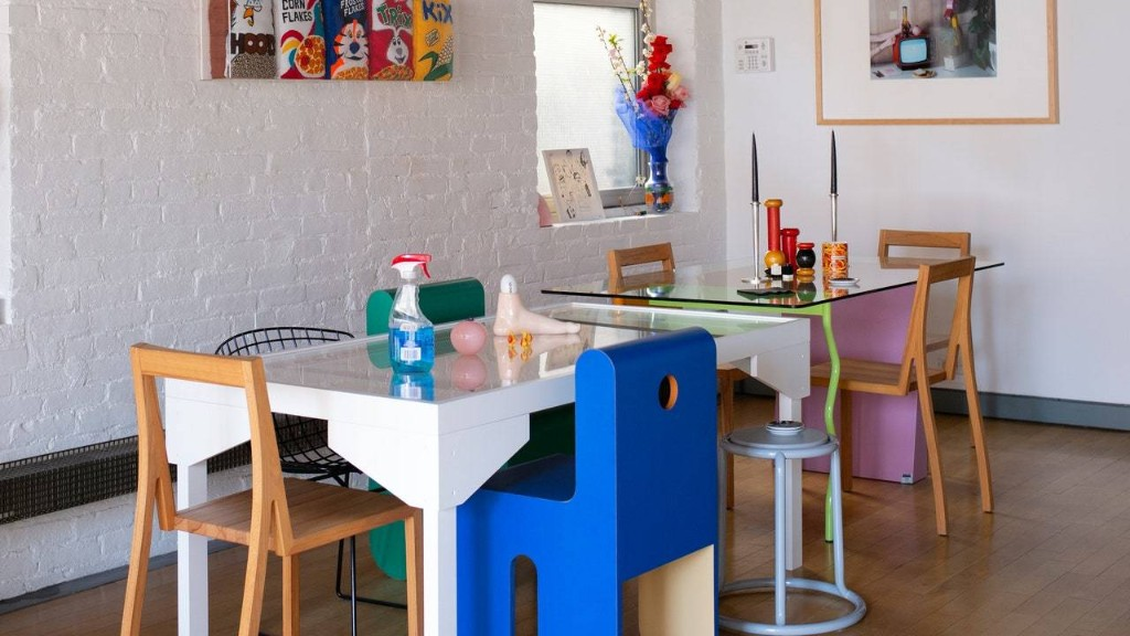 A Young Collector's Cool, Colorful Chinatown Loft