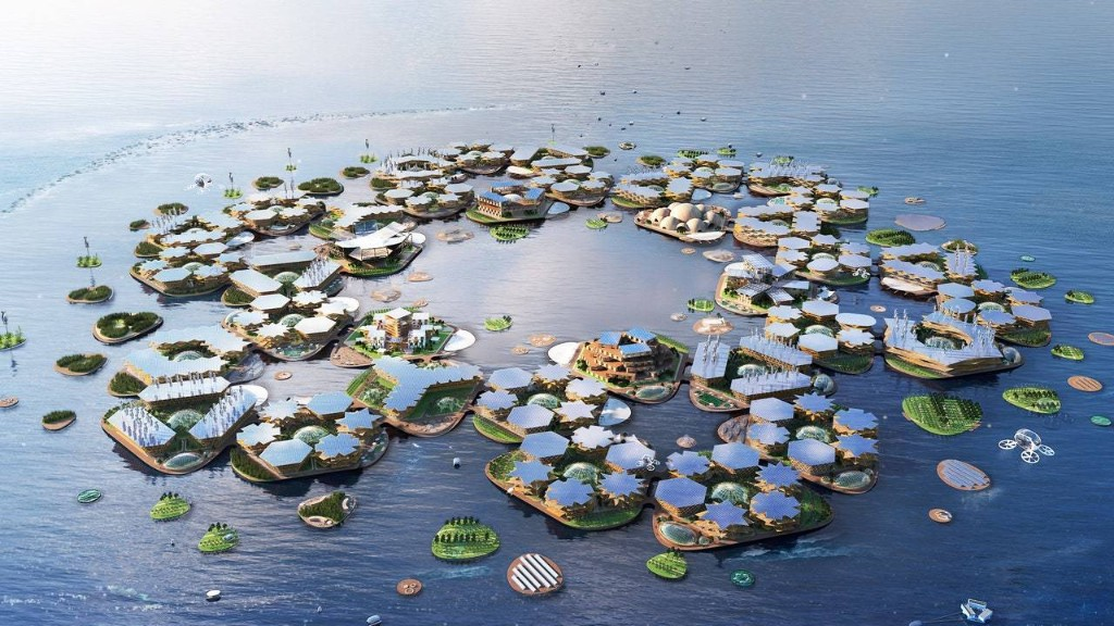Bjarke Ingels Unveils an Ambitious Plan for Floating Cities at the U.N.
