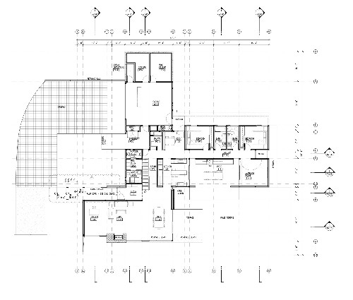 Architectural Drawings: 8 Coastal Homes with Open Floor Plans