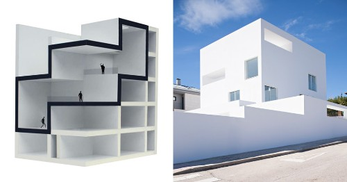 Concept to Completion: Casa Raumplan by Alberto Campo Baeza - Architizer Journal