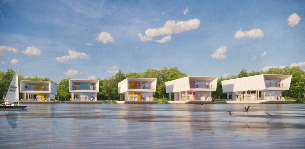 Grimshaw Designs Floating Affordable Housing to Combat Sea Level Rise - Architizer Journal