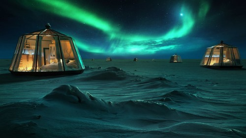 And the Award for Worst Idea of the Year Goes To … Heated Glass Igloos in the Arctic