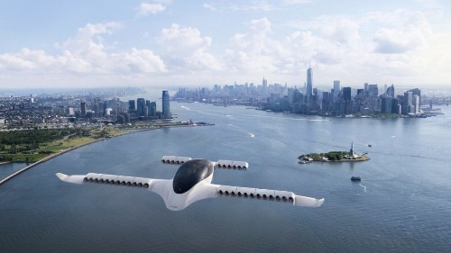 Coming to a City Near You: Flying Taxis