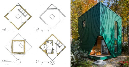 Architectural Drawings: 10 Plans for Granny Flats and Guesthouses - Architizer Journal