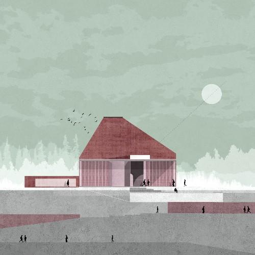 10 Drawings by Zean Macfarlane Bringing Architecture to Life