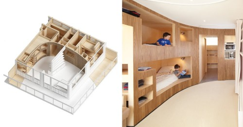 Architectural Diagrams: 10 Clever Storage Solutions for Tiny Apartments - Architizer Journal