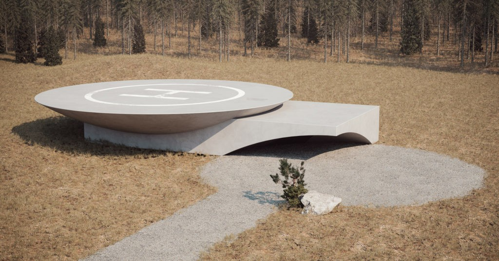 This Subterranean House Is Designed to Withstand the Next Global Catastrophe - Architizer Journal