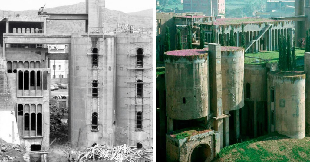 Video: Explore Ricardo Bofill's Stunning Home Inside a Ruined Cement Factory - Architizer Journal