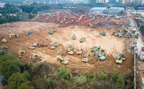 China Is Building a 1,000-Bed Hospital in 6 Days to Combat the Coronavirus