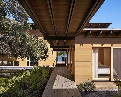Architectural Details: Lake|Flato's Hog Pen Creek Residence