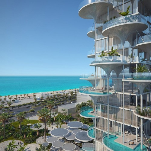 In Limassol Tower, Every Apartment Has Its Own Cantilevered Swimming Pool