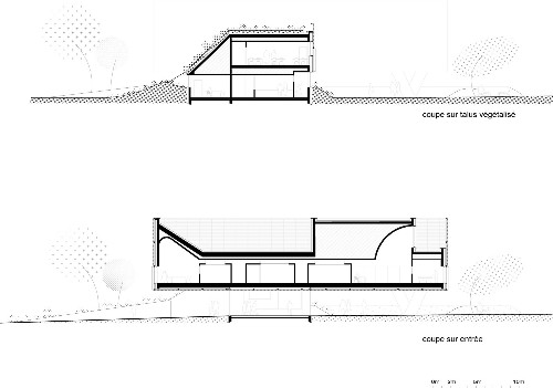 Architectural Drawings: 8 Green Roofs in Section