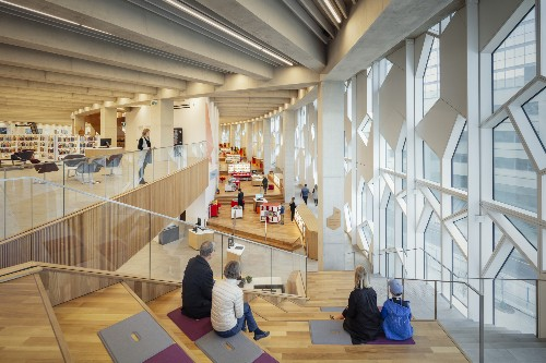 Architectural Details: The Snowflake and Cedar Façades of Calgary Central Library