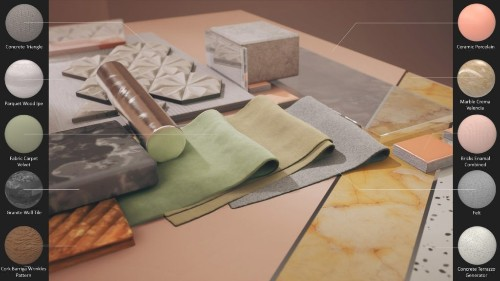 Adobe Introduces a Stunning Array of Materials for Architectural Visualization