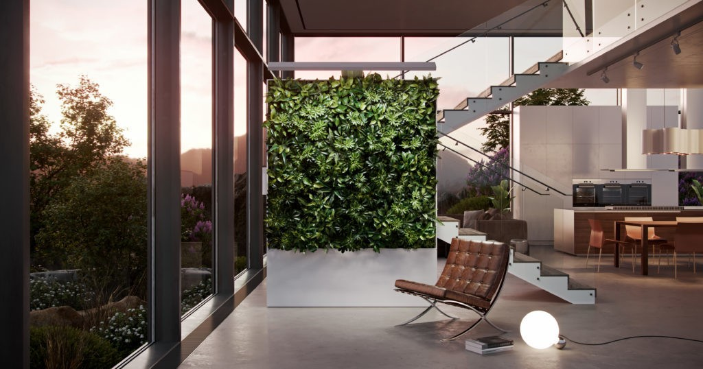 Zauben's Smart Living Wall Could Spark a Green Revolution in Architecture