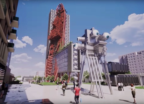 "Prague's Post-Apocalyptic ""Shipwreck Tower"": Genius or Nonsense?"