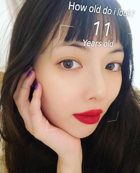 현아 얼굴 나이, 겨우 11살?…현재 29살 '초동안 미모' 뽐내