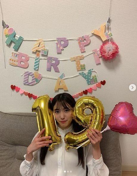"""시타오 미우, """"생일 축하해주셔서 감사합니다"""""""