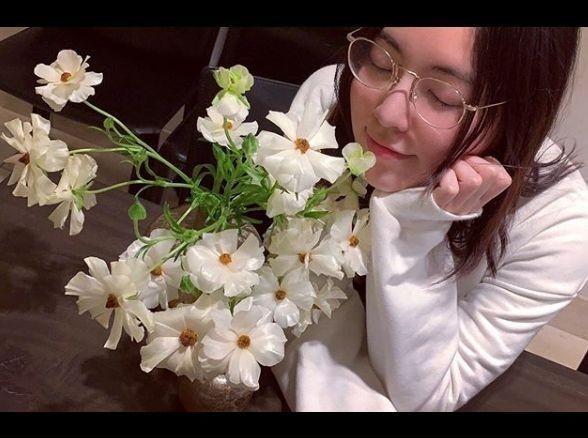 마츠이 쥬리나, 꽃보다 아름다운 미모 '두근두근'