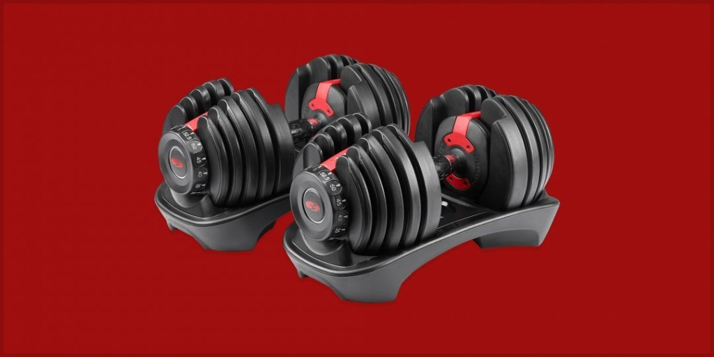 You Don't Need a Full Weight Room - Stock up on These Adjustable Dumbbells