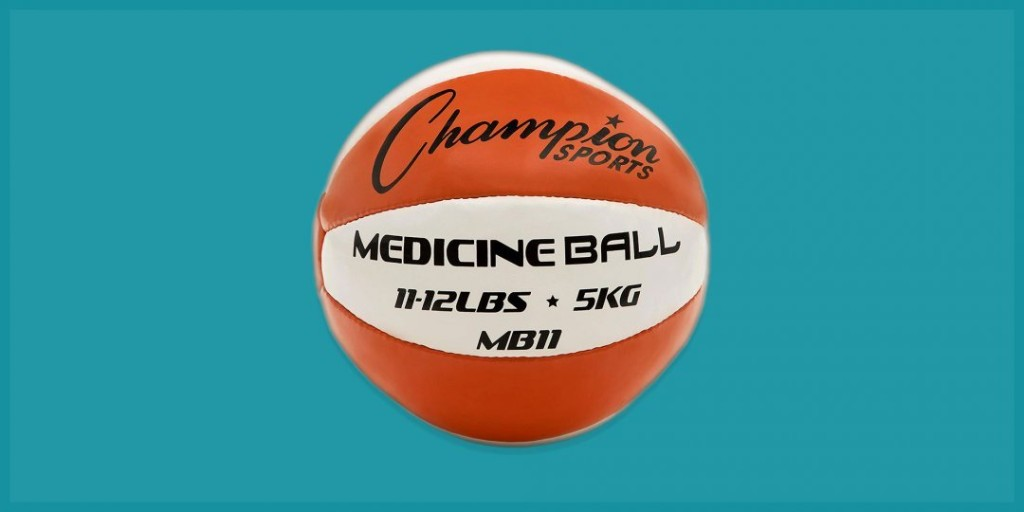 Take Your Workouts to the Next Level With These Medicine Balls