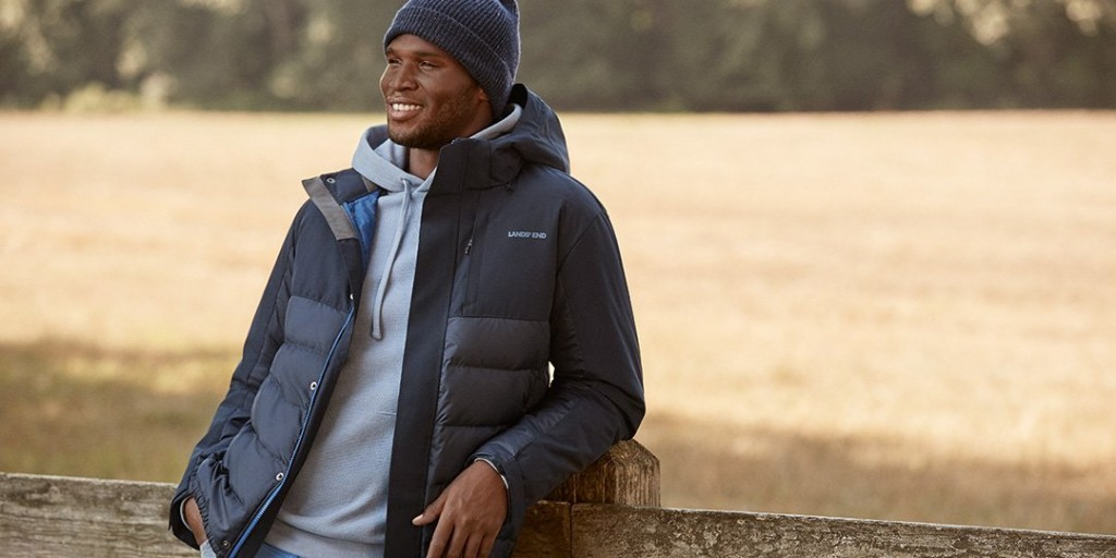 Indoors or Out, Your Fashionable Fall Starts With Lands' End