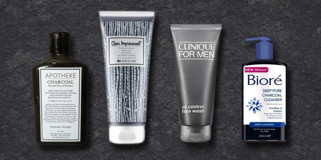 Why Are Guys Putting Charcoal On Their Faces?