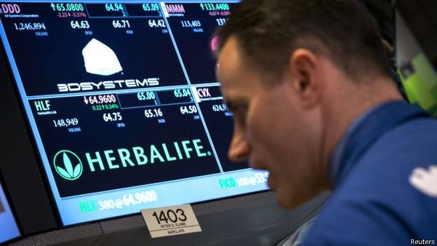 ¿Es Herbalife un esquema piramidal?