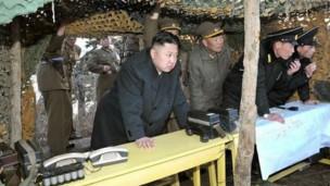 """美国给朝鲜核战争威胁言论""""降温"""""""
