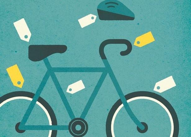 Biking  - Magazine cover