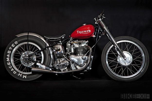 Triumph T100 sprint bike